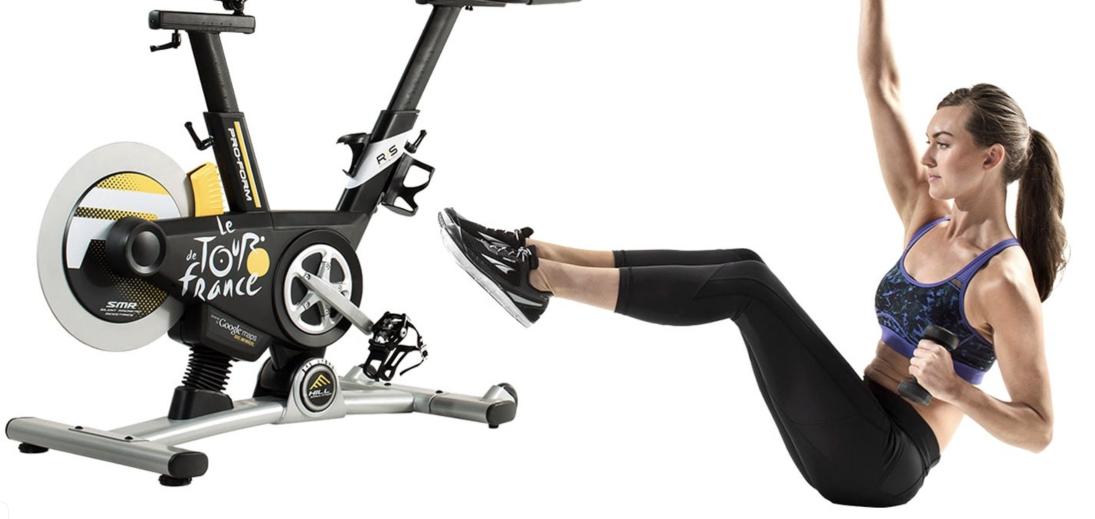 Какие мышцы работают при езде на велотренажере